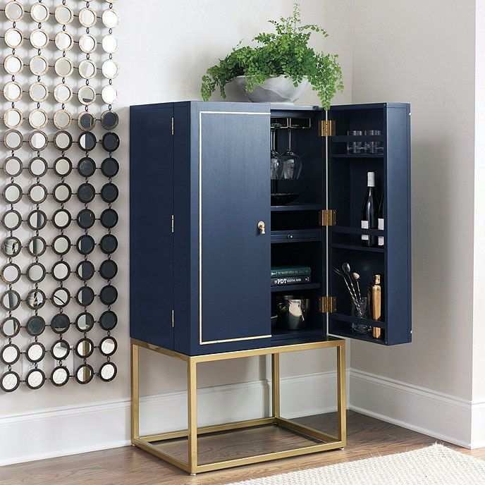 Luxe Bar Cabinets That Will Make You Crave A Martini With Images