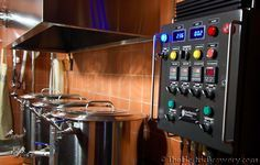 Electric Brewery. Will need to up it to make 15.5 Gal batches. Epic System.