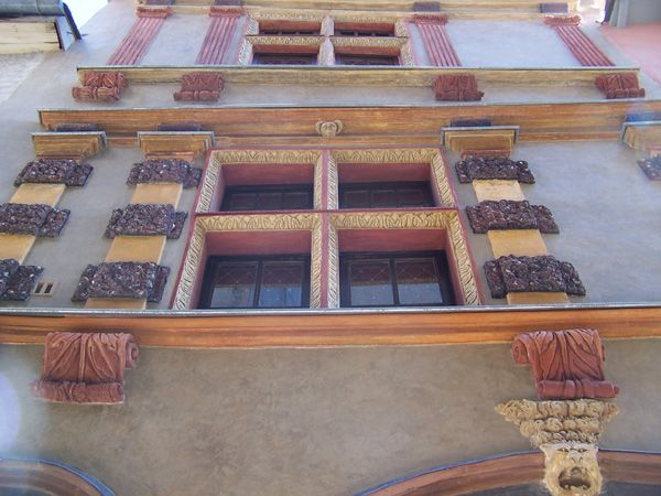 Façade Renaissance de la Maison Lesdiguières