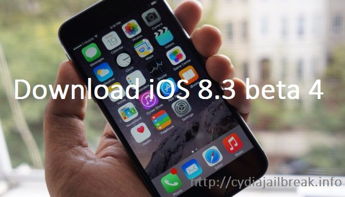 http://cydiajailbreak.info/ios-8-3-beta-4-released-developers-ios-8-3-beta-2-released-public/ iOS 8.3 beta 4 Released for the Developers and iOS 8.3 beta 2 Released to the Public