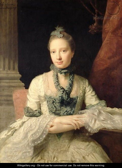Lady Susan Fox-Strangways, 1761 - Allan Ramsay