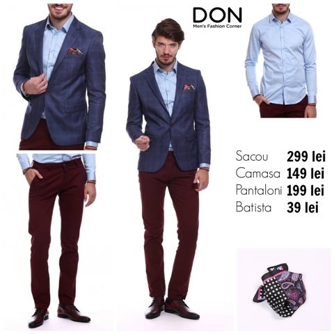 SHOP THE LOOK - 617 lei don-men.com #donstyle