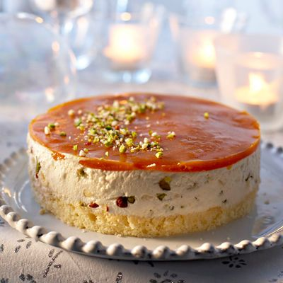 Découvrez la recette du bavarois nougat abricots