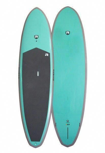 Aqua Mint Paddle Board. Excellent Coloration for stress-free on the water! Nice #YogaSUP …