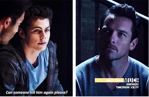 Teen Wolf - Stiles & Peter Hale