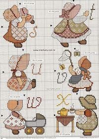 Artes de bordar - Brincando com os fios: Lindos gráficos para vocês!!!