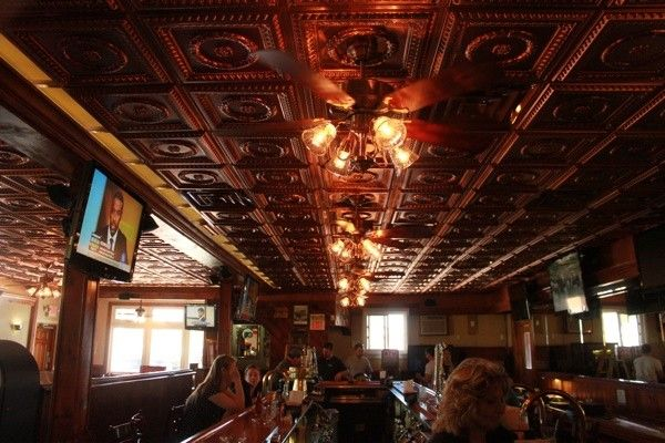 Breens Tavern in Rockledge PA  Decorative Ceiling Tiles