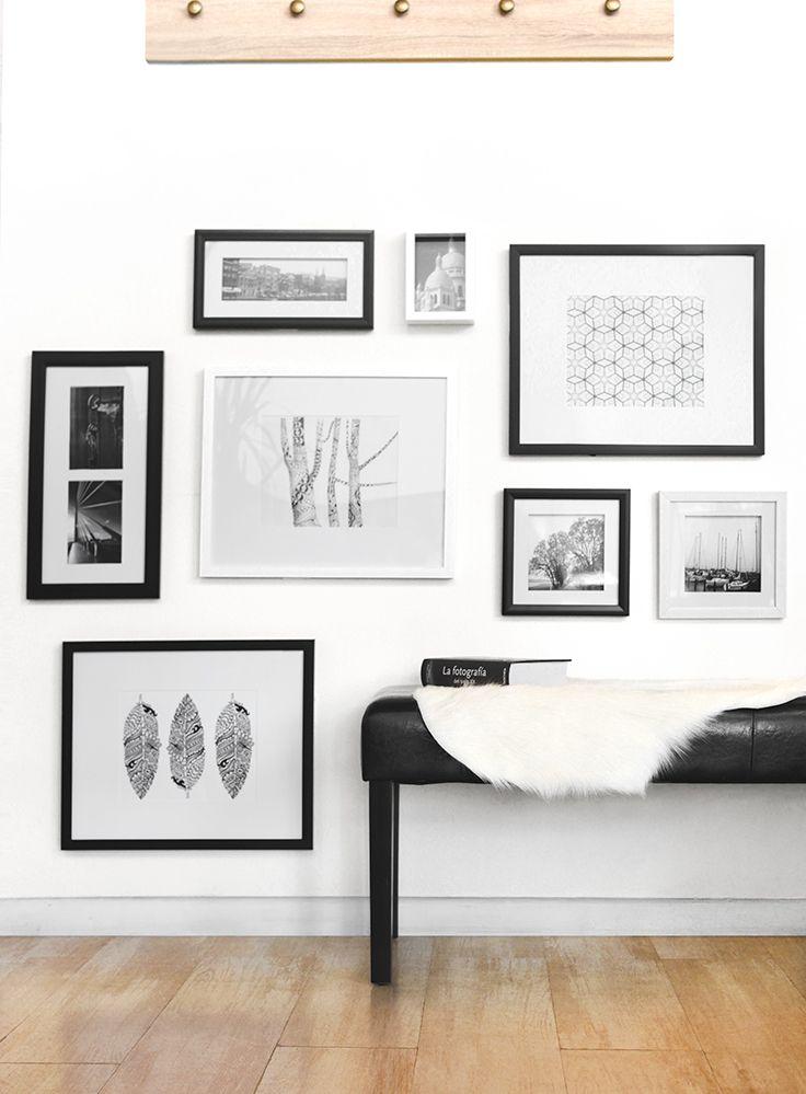 M s de 25 ideas incre bles sobre marcos de cuadros blancos en pinterest arreglos de cuadros de - Marcos economicos ...