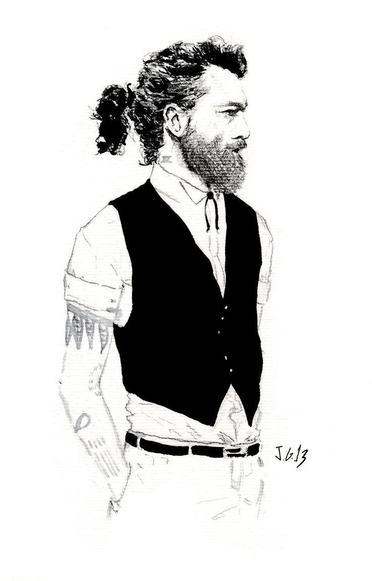 Tattoo beard 3