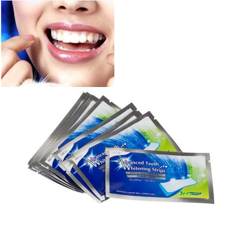 14Pairs New Teeth Whitening Strips Gel Care Oral Hygiene Clareador Dental Bleaching Tooth Whitening Bleach Teeth Whiten Tools BO #Affiliate