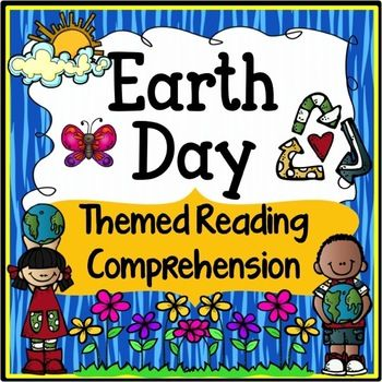 Earth Day Reading Comprehension Unit - This is an Earth Day themed packet that includes a challenging Earth Day nonfiction article, Earth Day poem, main idea, cause and effect, reading response questions, writing prompts and vocabulary word work/cards.
