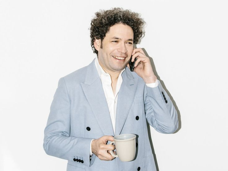 From inspiring a TV character to selling out the Hollywood Bowl,  conductor Gustavo Dudamel is on top of the pops.
