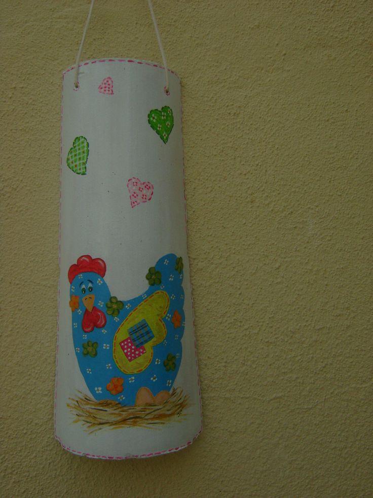 galinha pintada por Teresa