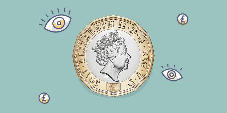 Britové mají novou librovou minci. Navrhl ji 15letý student