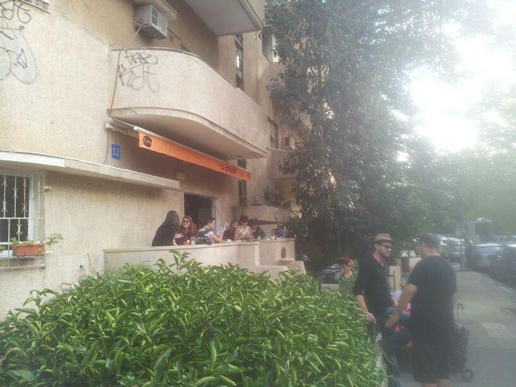 Cafelix. Shlomo The King 12. Best Coffee in Israel (?)