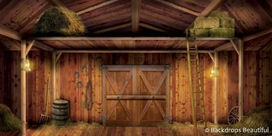 Backdrops Barn 6 Interior Indoor Mural Wow Love It