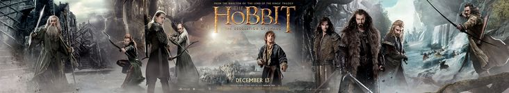 The Hobbit: The Desolation of Smaug - Movie Posters