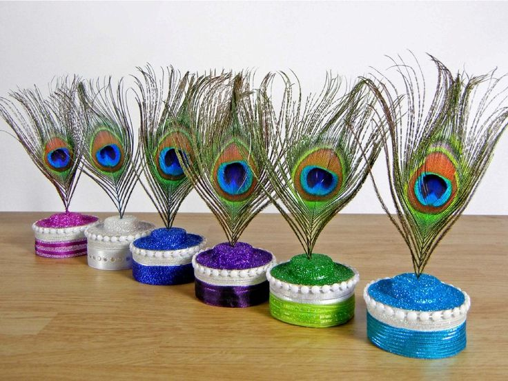 Peacock Themed Decoration Ideas Part - 42: Peacock Cupcakes