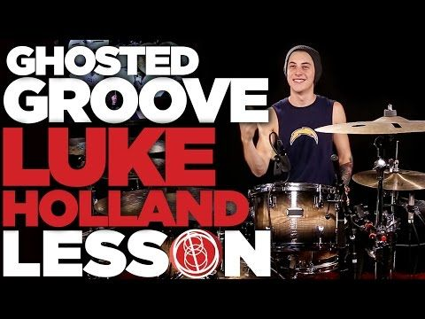 Ghosted Groove - Luke Holland [FULL LESSON] 180 Drums - http://audio.tronnixx.com/uncategorized/ghosted-groove-luke-holland-full-lesson-180-drums/