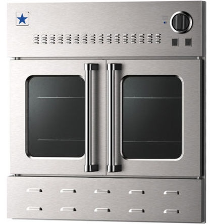 BlueStar Wall Oven has side doors that are safer and more accessible