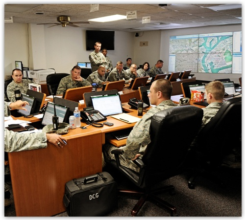 Military Emergency Operations Centers