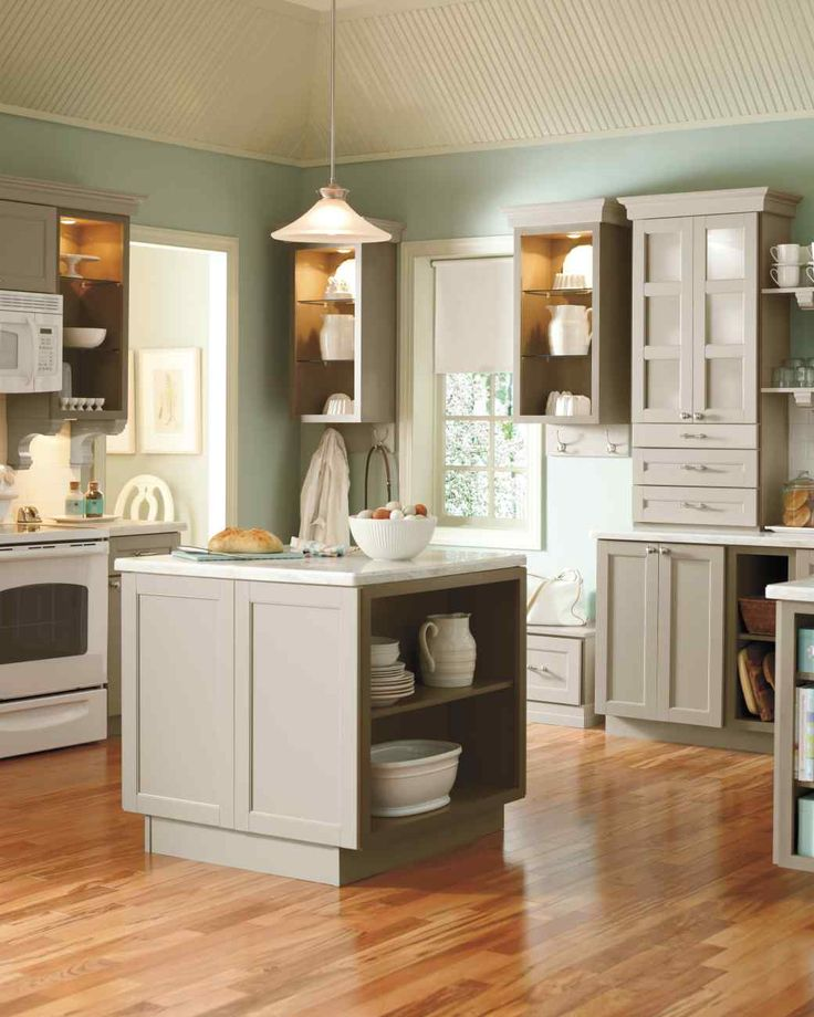 Living Kitchen Designs from The Home Depot   Martha ...