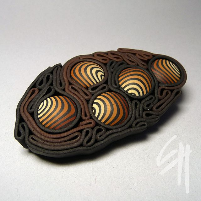 Brown maze by E.H.design, via Flickr