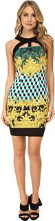Versace Jeans Graphic Print Sheath Dress Women's Dress