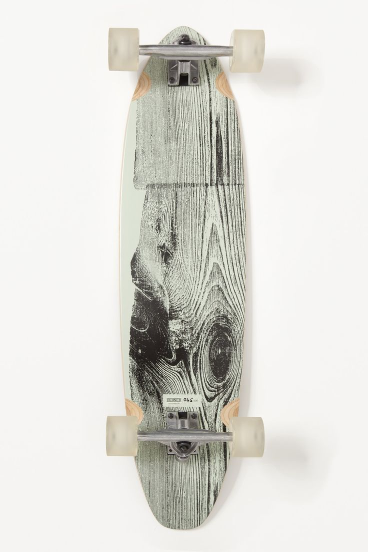 This is a neat skateboard design. I like how it appears to be a tree stump, revealing the detailed grains and movements in the wood growth and development. I like how the color scheme is a monochromatic variation of different grays. This helps to draw the eyes to the detailed image. #skateboard