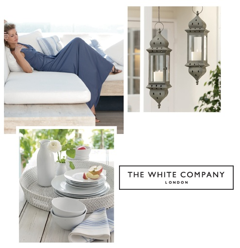 Home decorating from the White Company? Let's add an exclusive 15% off to it shall we?!