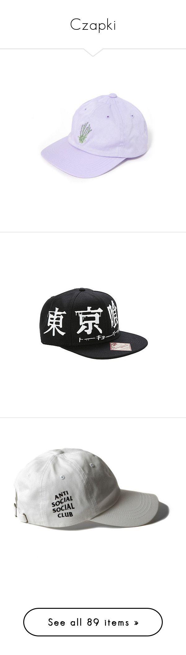 """Czapki"" by nataliastopczasu ❤ liked on Polyvore featuring accessories, hats, accessories - hats, embroidered snapback hats, snapback hats, embroidery hats, snap back hats, embroidered hats, white crown and crown cap"