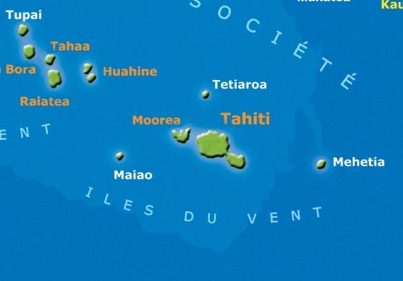 Google Image Result for http://a.img.easytahiti.com/map-tahiti-moorea.jpg: Tahiti Devient, Maps Tahiti Moorea Jpg 584 408, 1842 Tahiti, Dreams, Day Cod Words, Tahiti Someday, Visit Tahiti