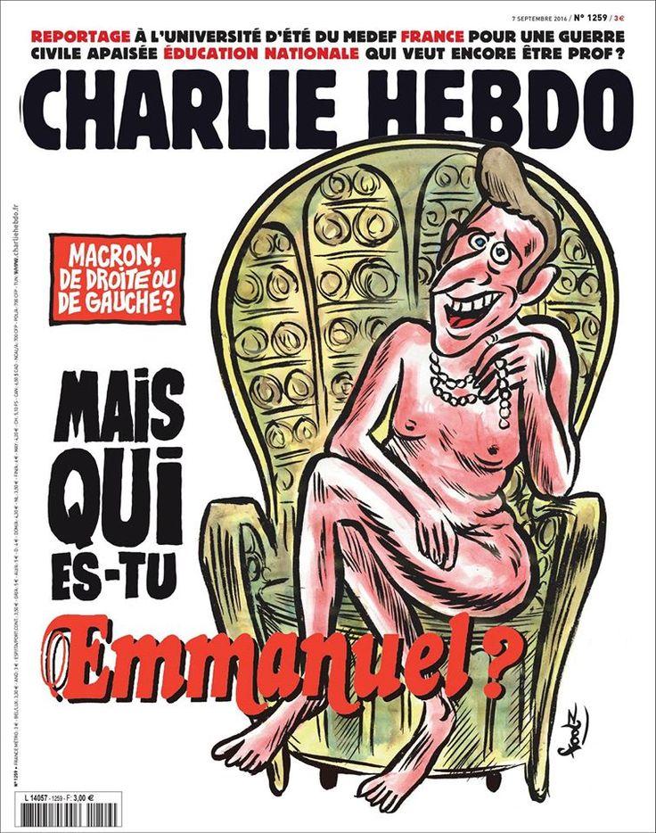 Charlie Hebdo - # 1259 - 7 Septembre 2016 - Couverture : Foolz