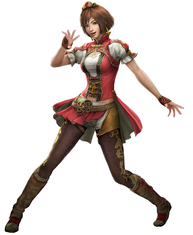 Female Character-Dynasty Warriors 8 Sun Shangxiang Artwork