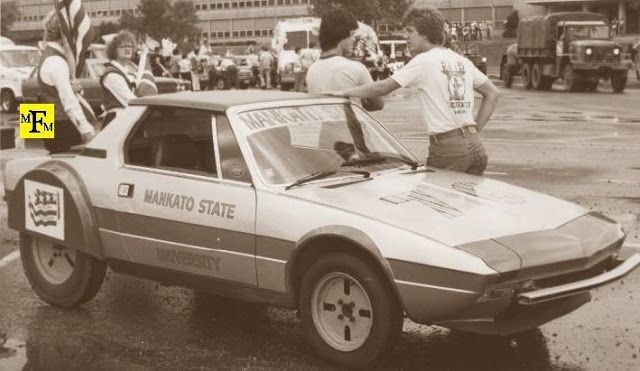 "Club Scuderia Italiana Fiat X1/9: Mankato State University Fiat ""Spirit of 76 MPG"": ..."