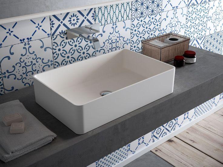 Vasque à poser rectangulaire en HI-MACS® CB540R - HI-MACS® by LG Hausys Europe
