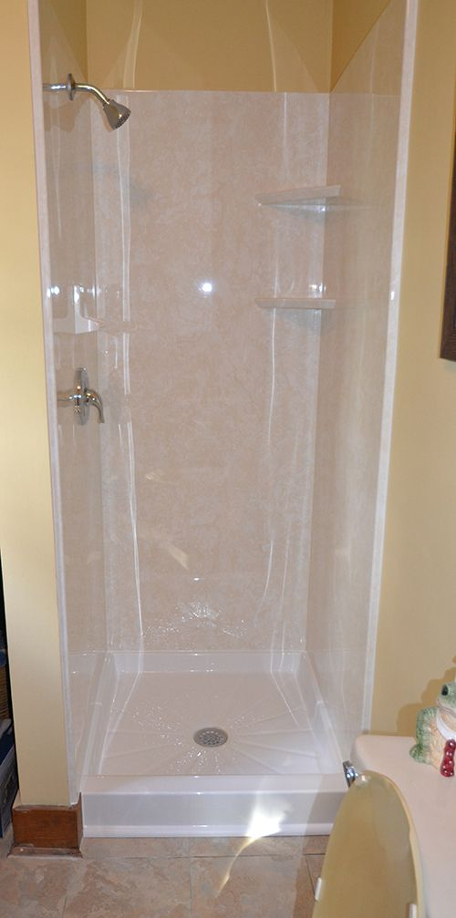 Shower Replacement, Shower Installation. No More 80u0027s Tile Showers!