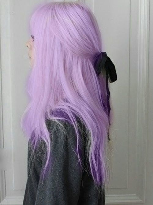 Pastel Hair Tips - Black Women, Asian Women Style