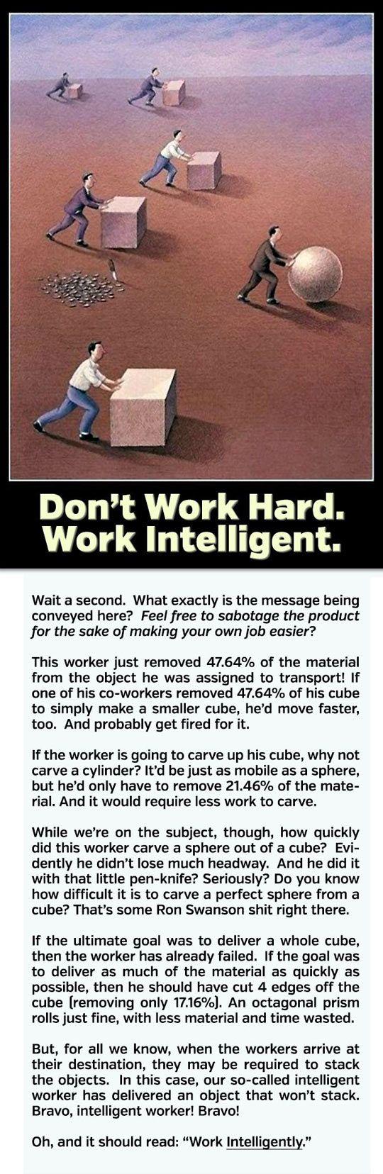 Work Intelligently