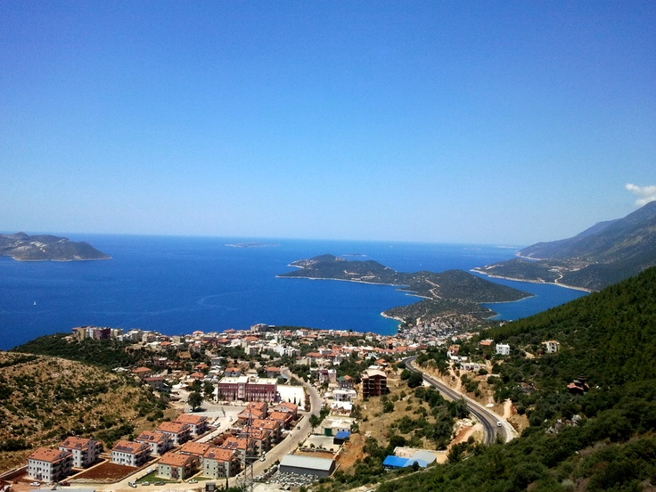 Kas (Turkey), June, 2012, view on the islands near town