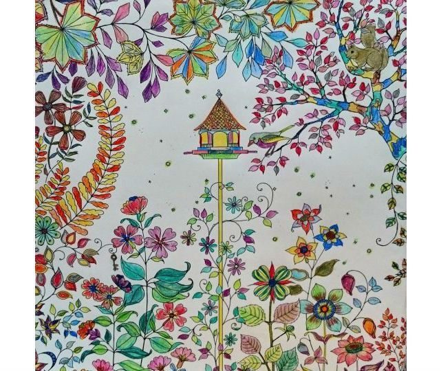 Photos New Coloring Books For Adults Are Good Your Health Secret Garden