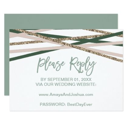 Best 25 Blush wedding reply cards ideas on Pinterest