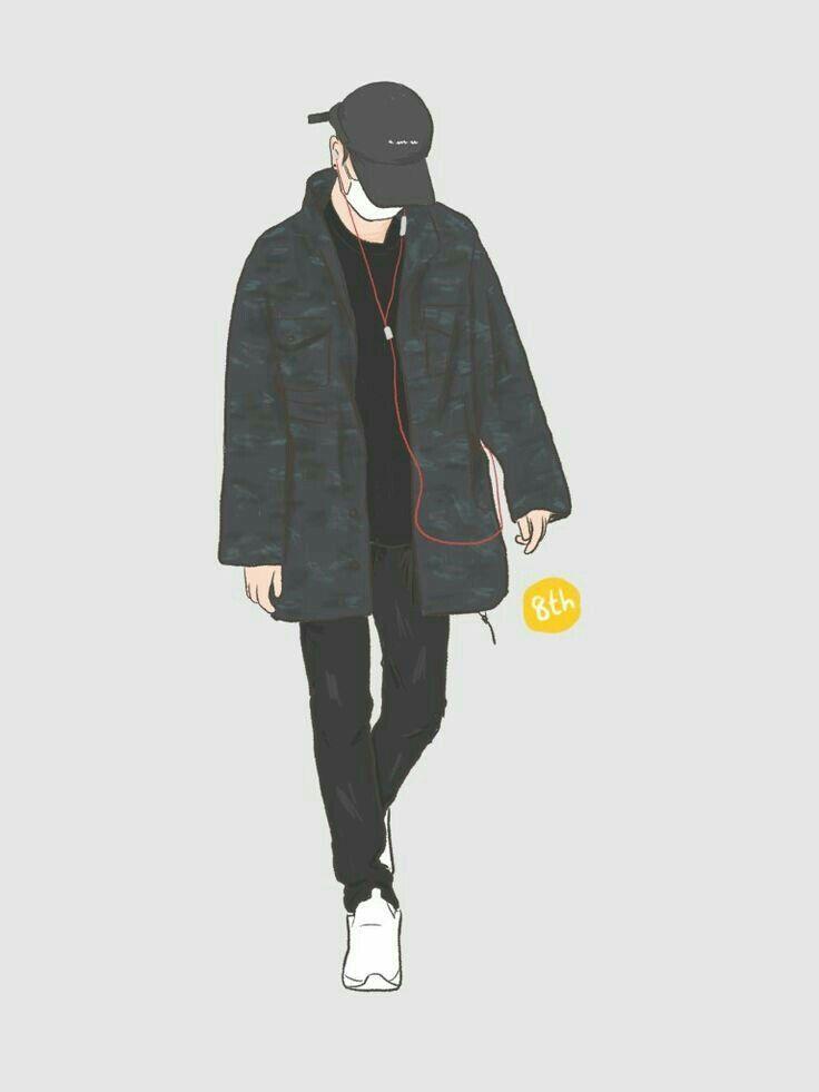 Wallpaper Cool + Cover Cerita Wattpad - Cowok Hits | Fashion Art Prints,  Boy Illustration, Fantasy Art Men