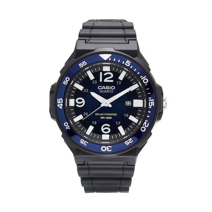 Casio Men's Classic Tough Solar Watch, Black