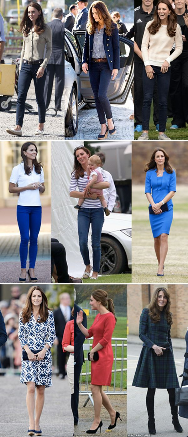 Capsule Wardrobe // Kate Middleton | Chicasaurus
