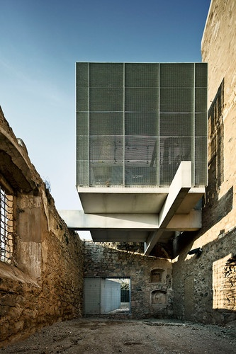 4 | Architect Lashes A New Building Atop Ancient Church Ruins | Co.Design: business   innovation   design