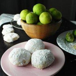Thai Ginger Key Lime Wedding Cookies
