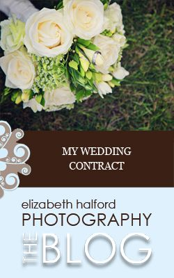 Need help with your wedding contract? Here's what's in mine.