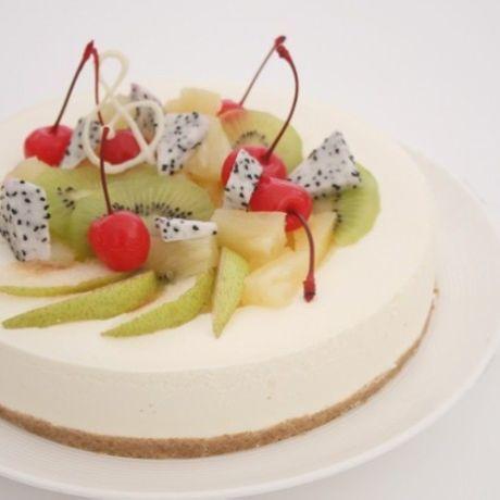 Sugar-free low-fat cheese cake