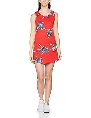 Medium, Multicoloured (Tomato Hawaiian M58), Vans Women's Tropic Tank Ii Dress N